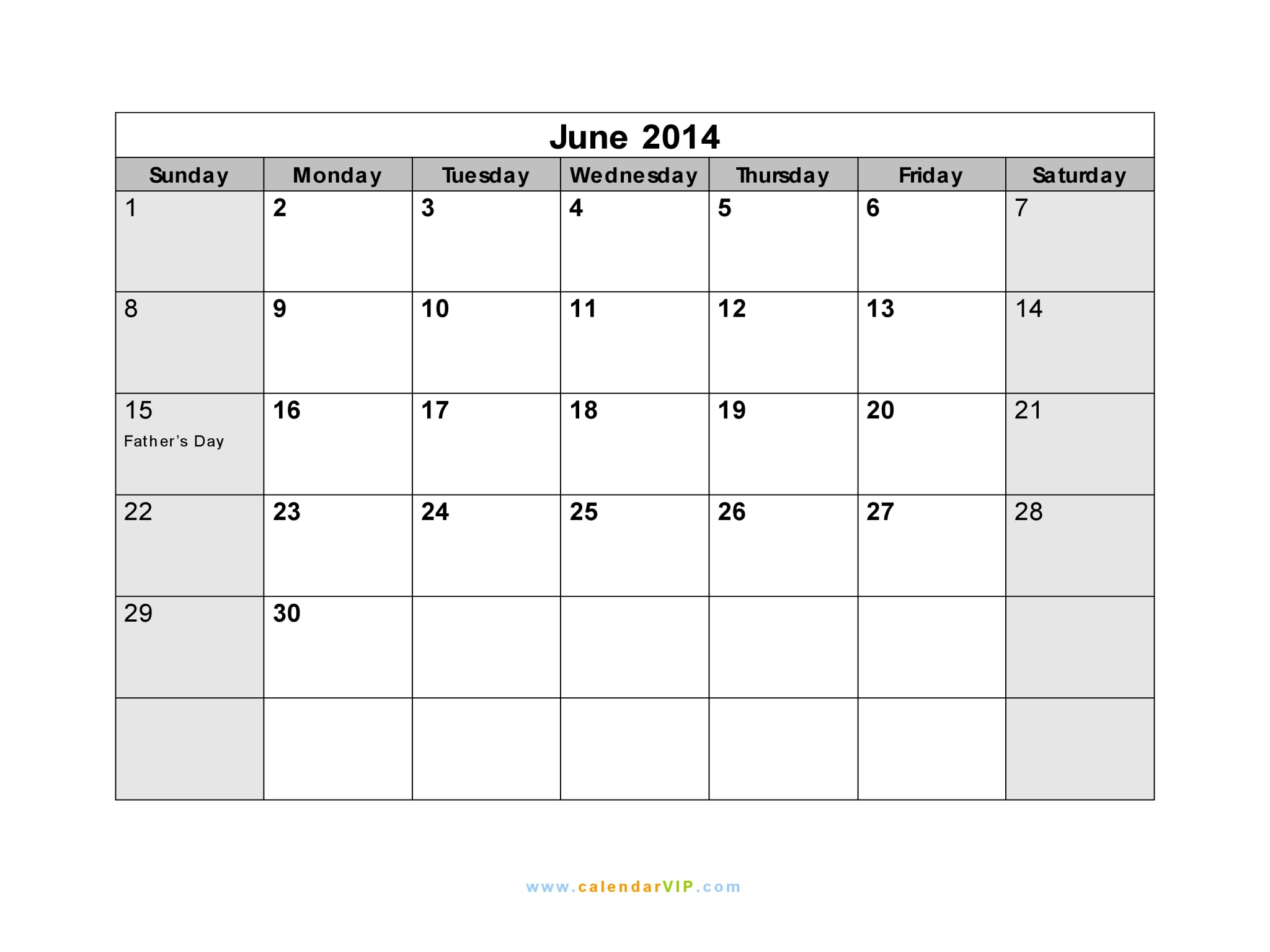 june 2014 calendar blank printable calendar template in
