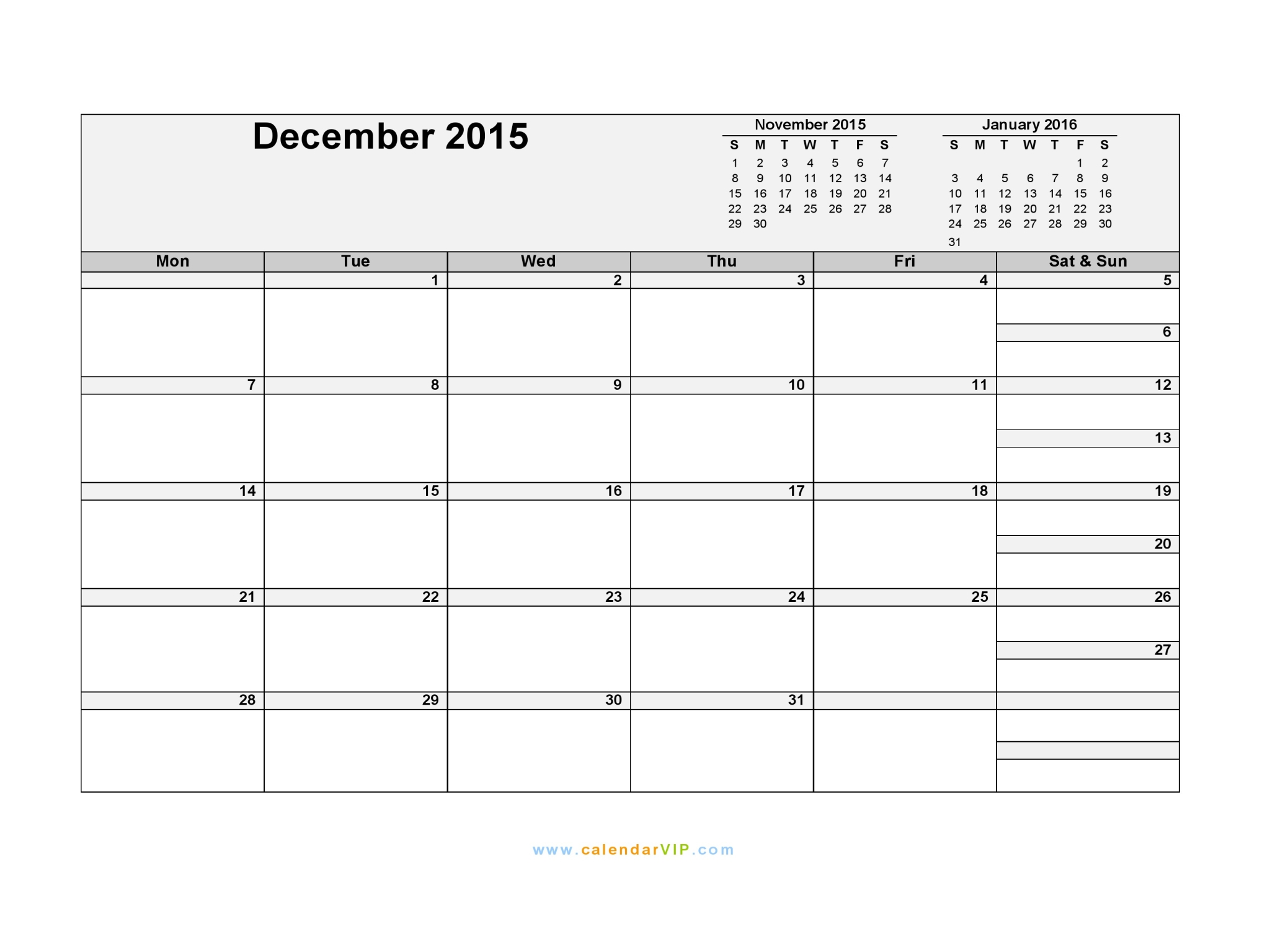 December 2015 calendar blank printable calendar template in pdf december 2015 calendar saigontimesfo