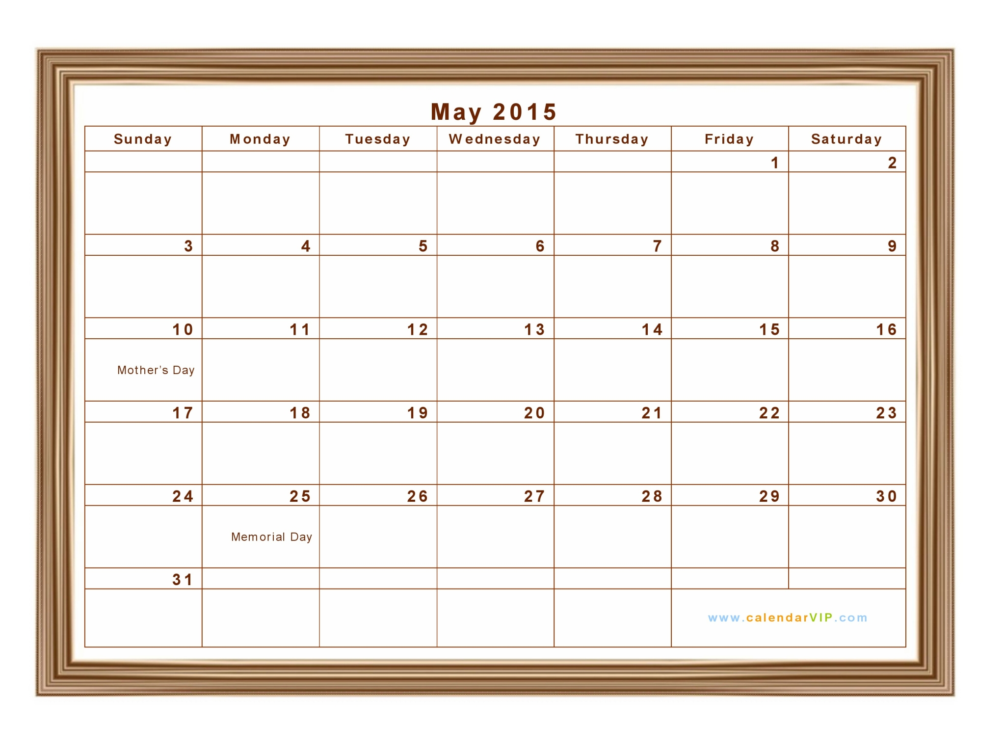 May Calendar Pieces : Calendar in excel format with week numbers
