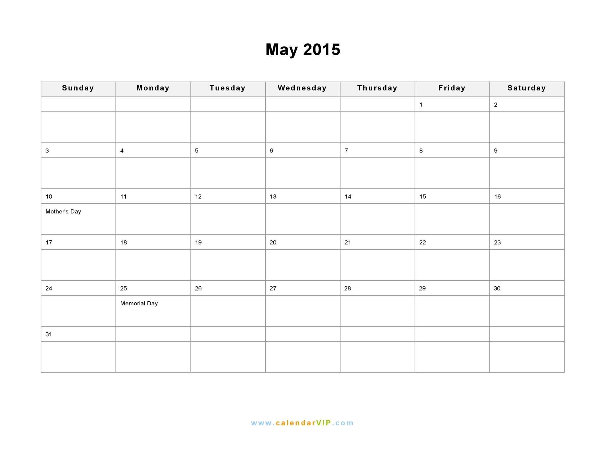 Blank monthly calendar printable page 2 new calendar template site